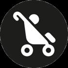 passend für: für Kinderwagen & Buggy