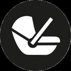 passend für: alle Schalensitze Gruppe 0, Softtragetasche & Hartschale